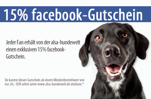 15 % Facebook-Gutschein